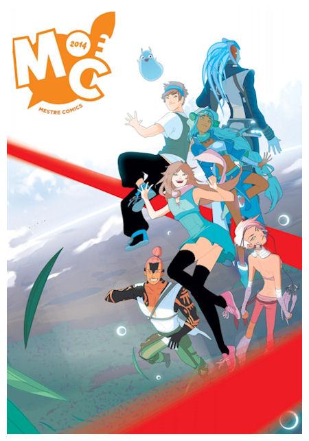 Locandina Mestre Comics 2014